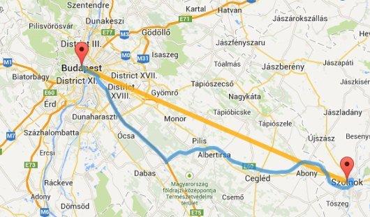 térkép útvonaltervező Útvonaltervező nemzetközi térkép | Magyarország